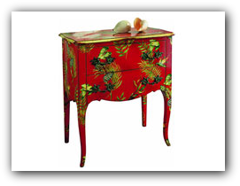 Individually decorated furniture